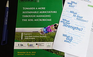 Booklet: Workshop JKI-INIA 14.-16.11.2019: Towards a more sustainable Agriculture through managing the Soil Microbiome